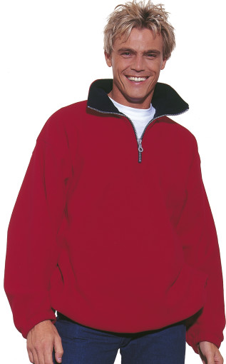 Relatiegeschenk US Basic Taos Fleece Zip Sweater bedrukken