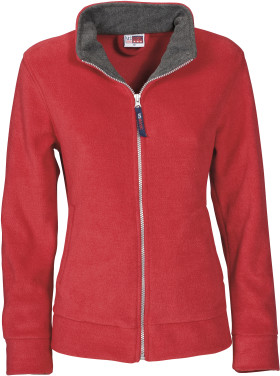 Relatiegeschenk US Basic Nashville fleece jack dames