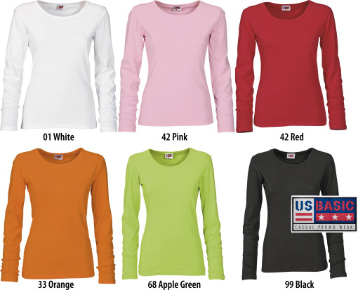 L'objet publicitaire US Basic t-shirt dames Hawaii