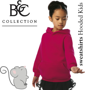 L'objet publicitaire B&C sweater Hooded / Kids