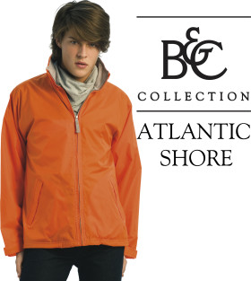 Relatiegeschenk B&C windbreaker Atlantic Shore