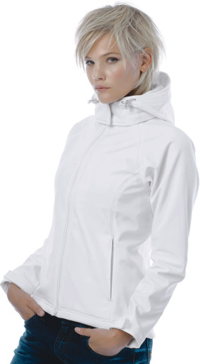 L'objet publicitaire B&C Hooded Softshell / Women