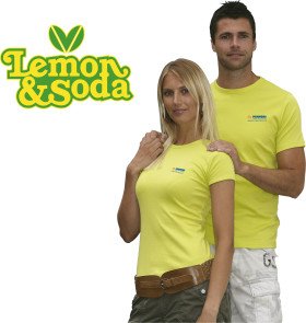 L'objet publicitaire Lemon & Soda 'Honululu' fit shirt for her