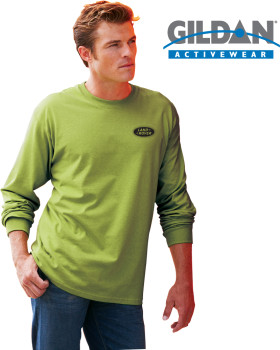 Relatiegeschenk Gildan Ultra Cotton Adult LS - T-shirt