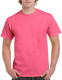 Gildan Ultra Cotton T-shirt - Fluo roze