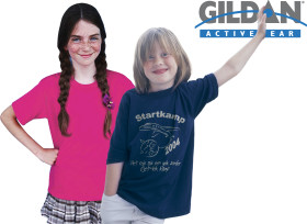 Relatiegeschenk Gildan Heavyweight T-shirt Kids