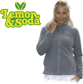 L'objet publicitaire Lemon & Soda cardigan Fremont for her