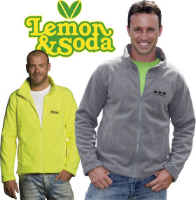 L'objet publicitaire Lemon & Soda cardigan Oakland for him