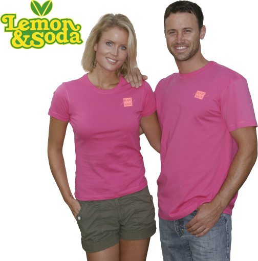 Imprimer l'objet publicitaire Lemon & Soda iTee t-shirt for him