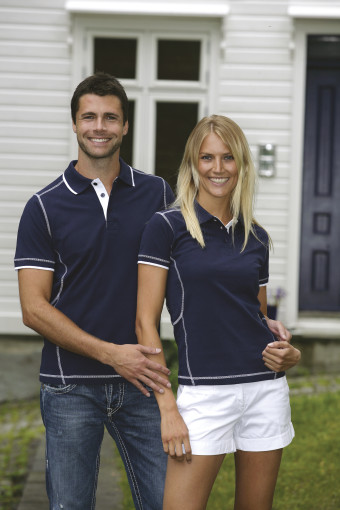 Relatiegeschenk Lemon & Soda polo Magnus for him bedrukken