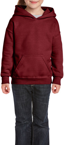 Imprimer l'objet publicitaire Gildan Heavyweight Youth Hooded Sweater