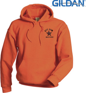 Relatiegeschenk Gildan Heavyweight Hooded Sweatshirt