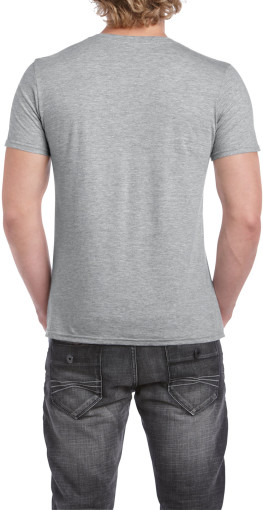 Imprimer l'objet publicitaire Gildan t-shirt SoftStyle V-neck for him