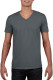 Gildan t-shirt SoftStyle V-neck for him - Charcoal