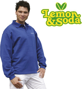 Relatiegeschenk Lemon & Soda Polo Collar Open Hem