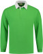 Lemon & Soda Rugby Polo Longsleeve Heren - Lime