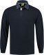 Lemon & Soda Rugby Polo Longsleeve Heren - Navy/denim
