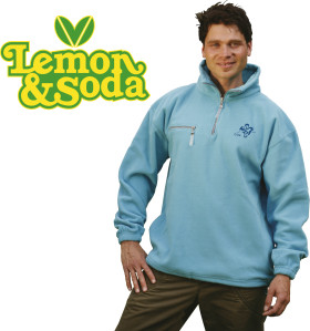 L'objet publicitaire Lemon & Soda polar fleece comfort sweater