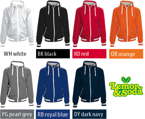 Relatiegeschenk Lemon & Soda Marblehead Warming Up Jacket bedrukken