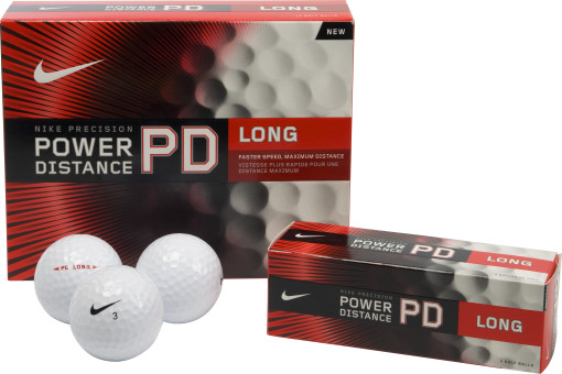 Imprimer l'objet publicitaire Nike Golfbal Power Distance Long