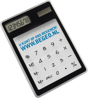 Relatiegeschenk Calculator Touch