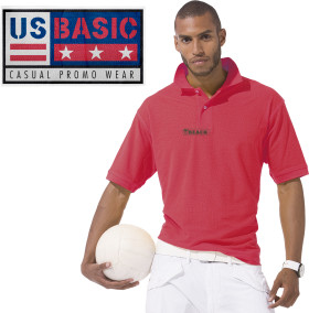 L'objet publicitaire US Basic First Polo