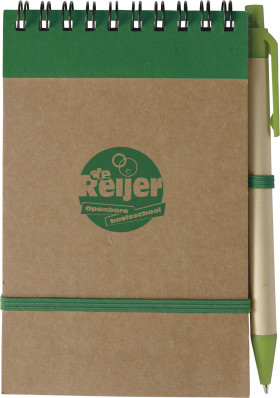 L'objet publicitaire Promo Carnet de notes Recycle