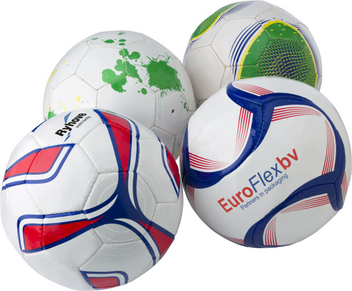 Imprimer l'objet publicitaire Ballon de football professional training 4 couches