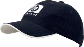 Relatiegeschenk 6-Panel heavy cotton cap