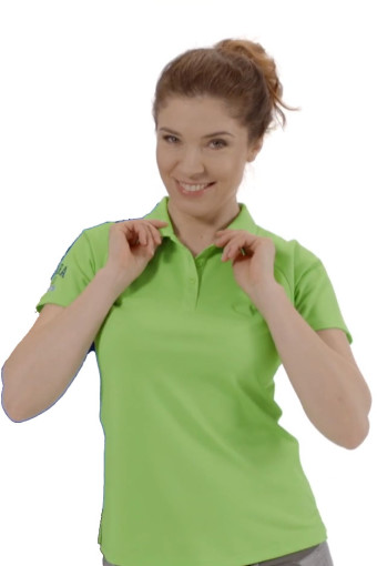 Relatiegeschenk Elevate Cool Fit Polo Dames bedrukken