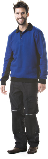 Relatiegeschenk Sweater Polo Workwear bedrukken