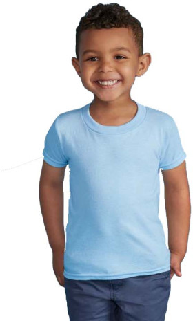 L'objet publicitaire Gildan Heavyweight T-shirt Toddler