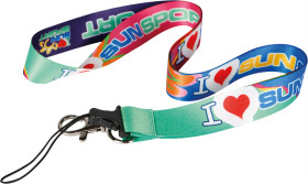 Relatiegeschenk Lanyard Phone - Full colour