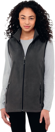 L'objet publicitaire Elevate Tyndall Bodywarmer micro-polaire Femme