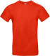 B&C 190 T-shirt Heren - Fire red