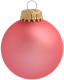 Kerstbal [7 cm] - Candy pink